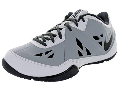 52dc0ae976a Nike Men s Air Ring Leader Low 2 White Black Wolf Grey Drk Grey Basketball  Shoe 10.5 Men US - Buy Online in Oman.
