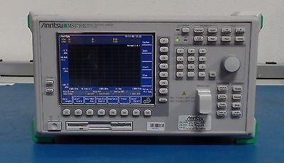 Anritsu MS9710B Optical Spectrum Analyzer 600-1750nm opt 5 Wavelength reference