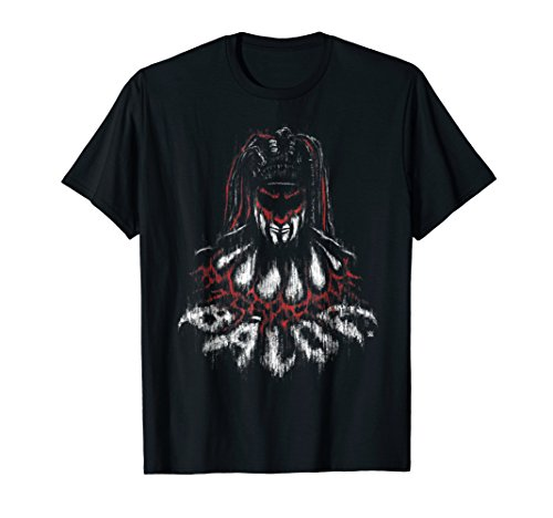 WWE Distressed Fin Balor In Demon Form Graphic T-Shirt by WWE
