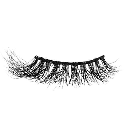 NewKelly Mink 3D Real Natural Thick False Fake Eyelashes Eye Lashes Makeup Extension AB (Demi Mink)