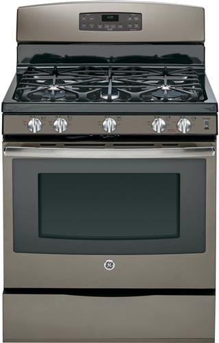 GE JGB697EEHES 30' Slate Gas Sealed Burner Range - Convection
