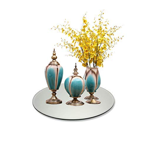 Round Mirror Centerpiece for Wedding Decorations and Dining Table Centerpieces (14 Inch, Pack of 10)                by Better crafts (Image #6)