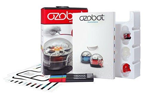 【超歓迎された】 Ozobot Starter Pack, Programmable Programmable Robot Pack, B01MSLLFZF Toy, Red [並行輸入品] B01MSLLFZF, O-PARTS:429936f3 --- mrplusfm.net