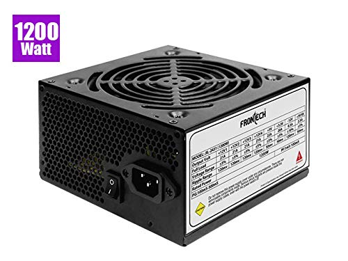 Frontech Jil-2431 SMPS Power Supply Entry Level (1200W) Power Supplies (Computers & Accessories) at amazon