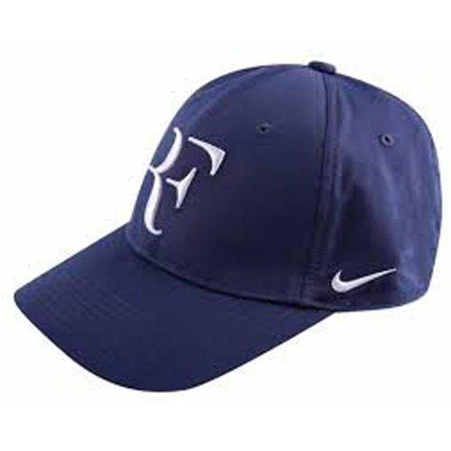 Nike RF Federer Hat Summer 2013 Midnight Navy/Flint Grey (Roger Federer Shoes Nike)