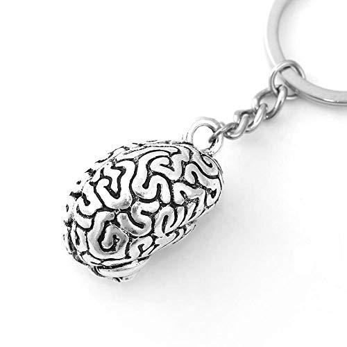 AGGIEYOU Llavero Llaveros Cerebro humano anatómico Cerebro ...