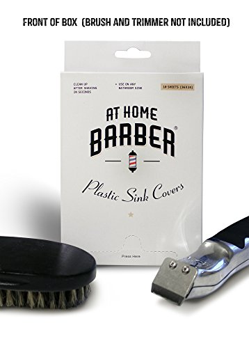 Athomebarber 174 Disposable Plastic Sink Covers For Easy