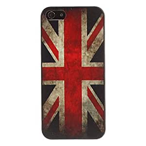 Mini - Retro Style American Flag Pattern Case for iPhone 5/5S