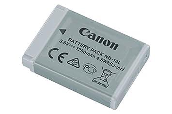Canon 9839B001AA - Batería recargable para cámara digital (1250 mAh), color gris