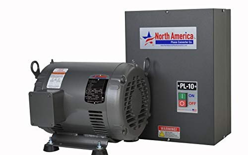 PL-10 Pro-Line 10HP Rotary Phase Converter - Single to Three Phase Converter