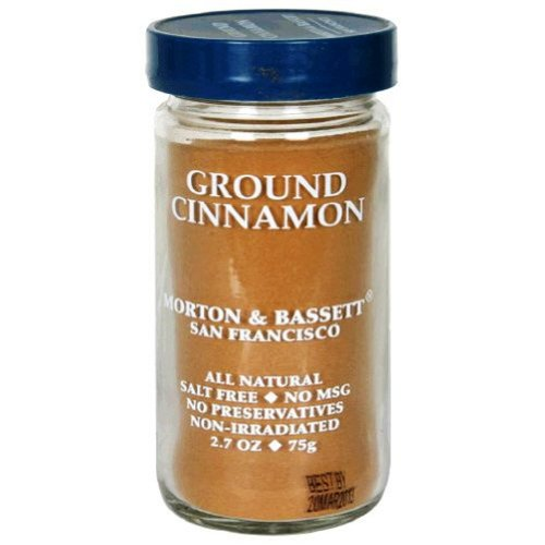- Morton & Basset Spices, Ground Cinnamon, 2.2 Ounce (Pack of 3)