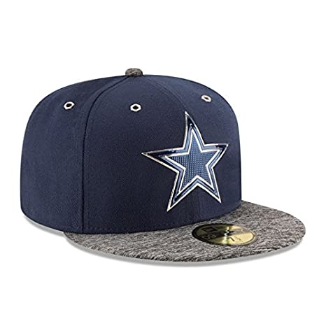 Image Unavailable. Image not available for. Color  New Era Dallas Cowboys  2016 Mens On Field Draft 59Fifty Cap 38cf9f319