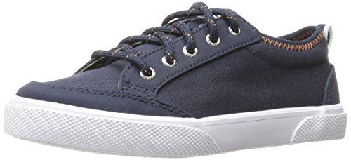 (Sperry Deckfin Sneaker, Navy, 5.5 M US Big Kid)