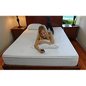 Snuggle-Pedic Mattress That Breathes - Patented Airflow Transfer System, Kool-Flow Ultra-Luxury Bamboo Cover, USA Orthopedic Flex-Support Memory Foam, 4-Month Sleep Trial & 20-Year Warranty (Cal King)