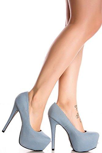Lolli Couture Diamant Glitter Accent Amandel Teen Plateau Hoge Hakken Ldenim-lulli-6