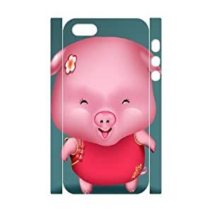 C-Y-F-CASE DIY Design Cute Pig Pattern Phone Case for iPhone 5,5S