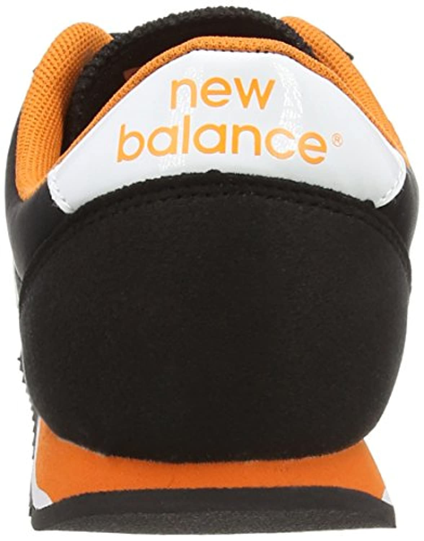 New Balance Unisex Adults' U396 Clásico Sneakers, Unisex adult, U396 Clásico, Black / Orange, 9-Aug