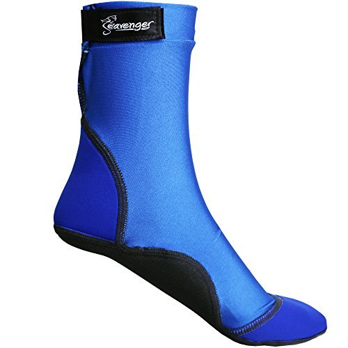 Seavenger High Cut Beach Socks with Grip Sole for Sand, Volleyball, Snorkeling,...