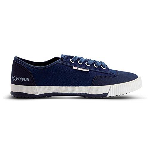 S00038 Feiyue Lowtop Deck Shoes,Blue,41 US Men 8-8.5   Women 9.5