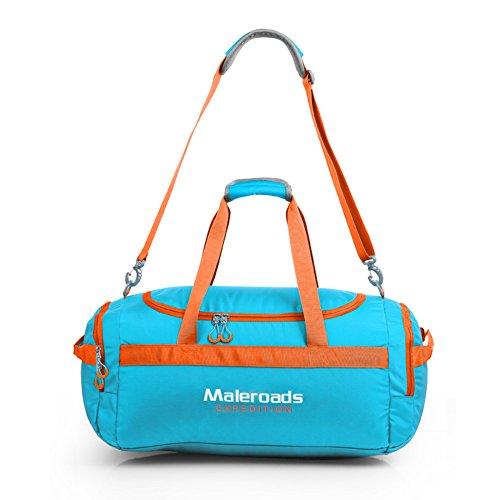 Bolso al aire libre/Los hombres y las mujeres bolsos de mano/Bolsa de viaje bolsa de mensajero-cielo azul cielo azul