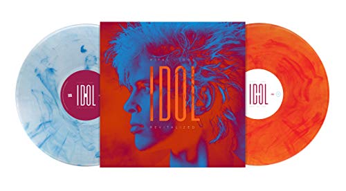 Album Art for Vital Idol: Revitalized [2 LP][Silver/White Orange/Red Swirls] by Billy Idol