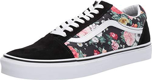 Vans Unisex Old Skool Skate Shoe Adults (7 Women / 5.5 Men M US, Garden Floral 7432)