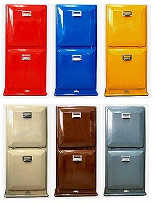 ゴミ箱はもちろん、マガジンラックやキャビネット代わりにもオススメ!☆ ☆【DULTON 100-133 Trash can