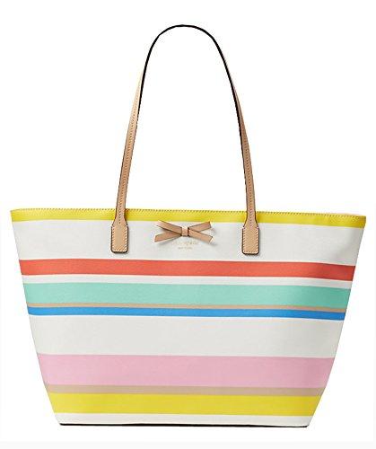 Eden Tote Bags - Kate Spade Shore Eden Street Margareta Tote Bag (dune stripe)