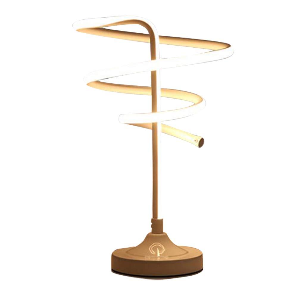 HUANGLP LED-Tischlampe mit DREI Geschwindigkeiten, 20W 32W 37W 47W Moderne Schlafzimmerhaus dekorative Tischlampe,Weißlight,37W8803