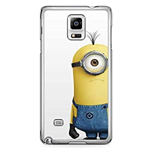 Minion Samsung Galaxy Note 4 Transparent Edge Case - D