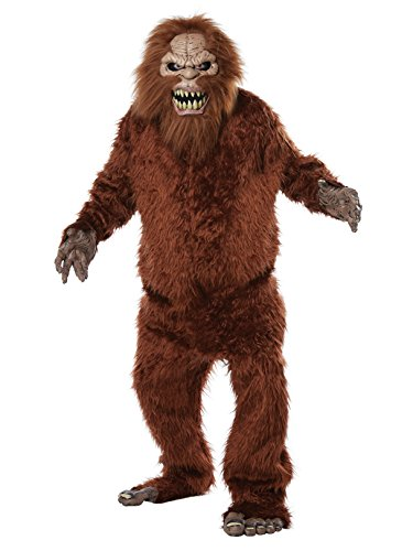 California Costumes Men's Sasquatch-Adult Costume, Tan/Brown, One -