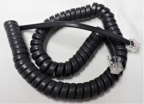 - Lot of 5 Gray 9' Ft Handset Cords for Cisco IP Phone 7800 7900 8800 Series with 5