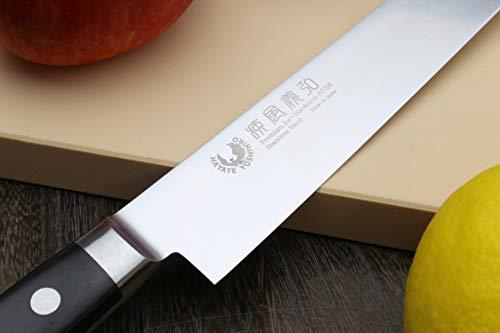 Yoshihiro 240mm Inox Sujihiki Japanese Chef Knife, 9.5-Inch by Yoshihiro (Image #4)
