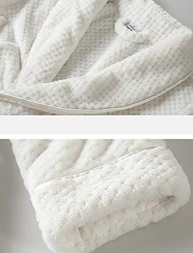 Microfibra Ducha Albornoz Baño Mujer Blanco Mujer Putuo Para De Largo p0PBq0U