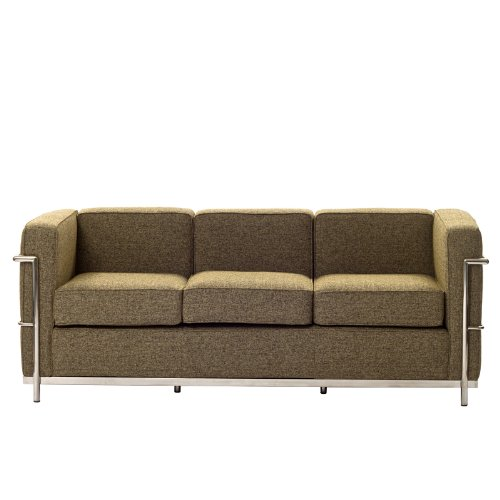 Charles Wool Petite Sofa in Oatmeal