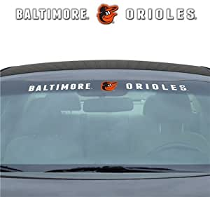 Baltimore Orioles 35''x4'' Windshield Decal