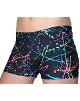 """GemGear Paint Splatter 2.5"""" Inseam Compression Shorts"""