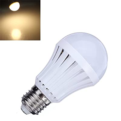 E27 5W Warm White 30 SMD3014 LED Light Ball Bulbs Lamp 165-230V