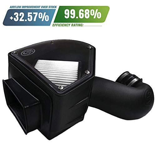 S B Filters 75 5090d Cold Air Intake For 1994 2002 Dodge Ram Cummins 5 9l Dry Extendable Filter