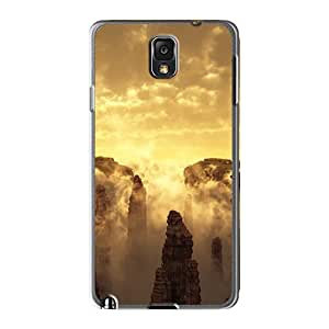 Tpu Shockproof/dirt-proof 3d Canyon Landscape Covers Cases For Galaxy(note 3)