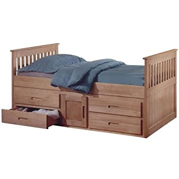 Captains Single 3ft Cabin Bed - Pine Storage Bed Frame  sc 1 st  Amazon UK & Captains Single 3ft Cabin Bed - Pine Storage Bed Frame: Amazon.co.uk ...