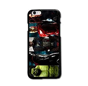 Tomhousomick Custom Design The Avengers Spider-Man Captain America The Hulk Thor Ant-Man Black Widow Iron Man Case Cover For iPhone 6 4.7 inch 4.7