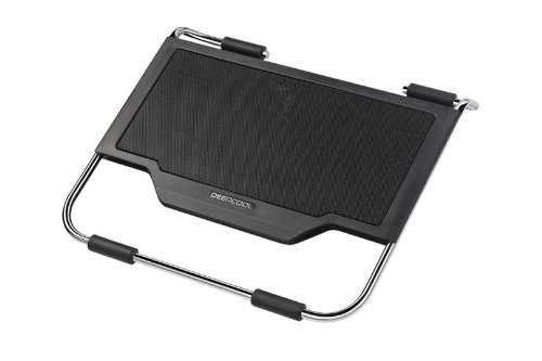 Logisys Deepcool NP2000TRI Notebook Cooler Pad w/3 Fans & Blue LED (Black) - Fits up to 15.4