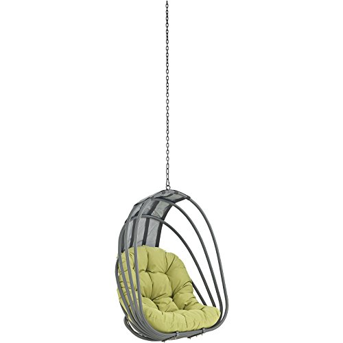 Modway Whisk Outdoor Patio Swing Chair Without Stand, Peridot