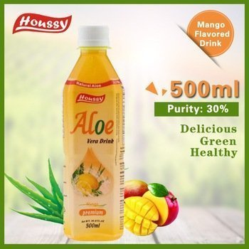 Amazon.com : Houssy aloe vera juice drink 16.9oz(Pack of 20) (mango) : Grocery & Gourmet Food