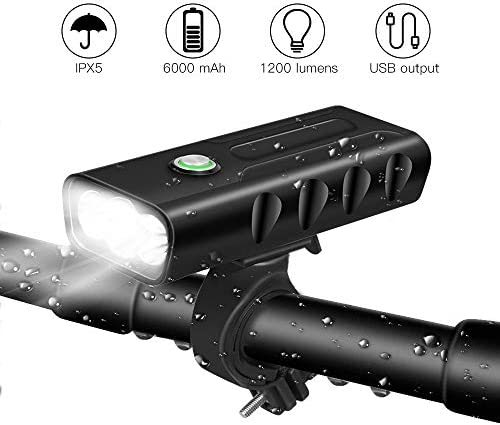 BICYGO Rechargeable Flashlight Waterproof Headlight%EF%BC%88Light product image