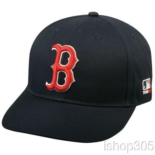 MLB Replica Adult Baseball Cap Various Team Trucker Hat Adjustable MLB Licensed , Boston Red Sox - Home
