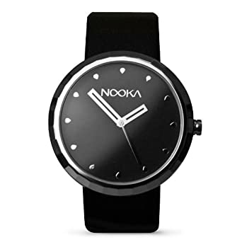 Nooka Unisex-Armbanduhr Analog Edelstahl Silber A11D22C