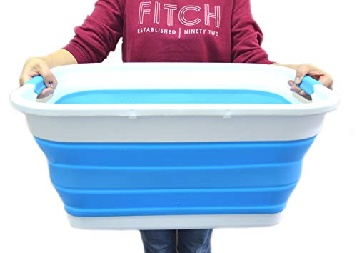 SAMMART Collapsible Plastic Laundry