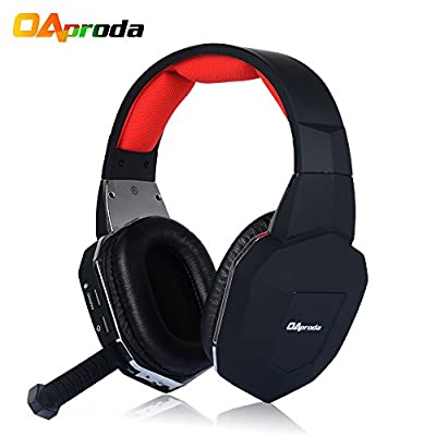 Oaproda® 2.4G Wireless Gaming Headset Stereo Headphone Headset with Microphone for PS3/ PS4/ WII / PC / MAC / TV)